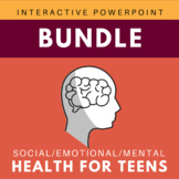 Teen Mega Bundle- Social/Emotional/Mental Health Interacti