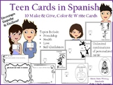 Teen Cards in Spanish