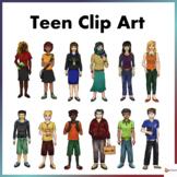 Teen Clip Art
