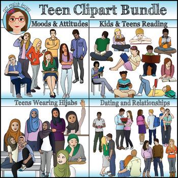 Teen Clipart Bundle 2