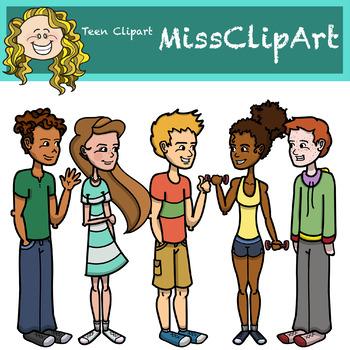 Teen Clipart {MissClipArt}