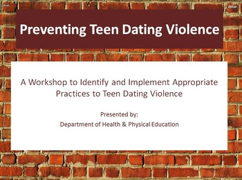 Teen Dating Violence PowerPoint