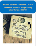 Teen Eating Disorders- symptoms, health complications, how to get  help