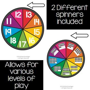 Teen Number Games & Activities