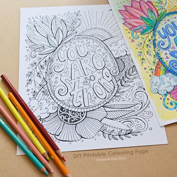 Inspirational Coloring Teaching Resources | Teachers Pay Teachers