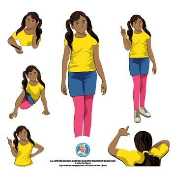Teen Girl | Middle School Kids | African American