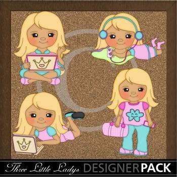 Teen Girls Blonde