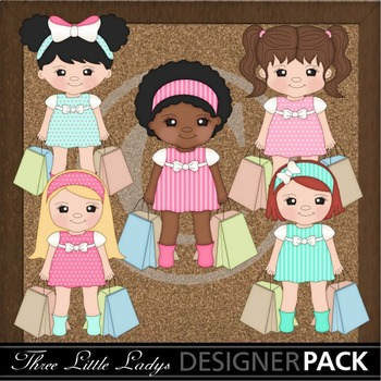 Teen Girls Shopping 3