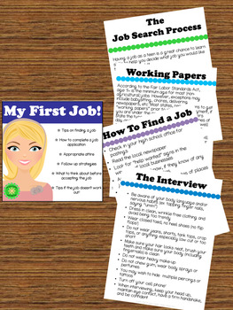 Career Skills and Planning