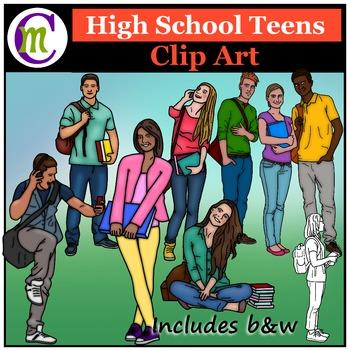 Teen Clipart
