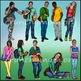 Teen Kids Clip Art ♦ High School Kids Clip Art