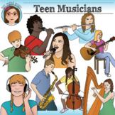 Musicians- Teen Clip Art