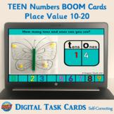 Teen Number (10-20) Place Value Boom Cards – Digital Task