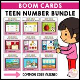 Teen Number Activities Bundle Boom Cards