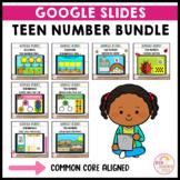 Teen Number Activities Bundle Google Slides ™