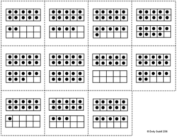 Teen Number Activity Bundle (10 and more, Base Ten, Double 10-Frames)