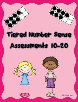 Teen Number Assessment
