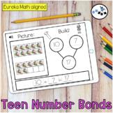Teen Number Bonds Building Digital Eureka Math Module 5 Topic E