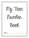 Teen Number Book