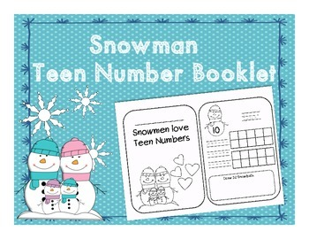 Teen Number Booklet Winter Edition