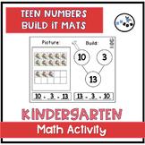 Teen Number Build It Board: Eureka Math Module 5 Topic E