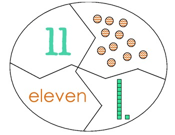 Teen Number Building Puzzles