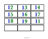Teen Number Cards