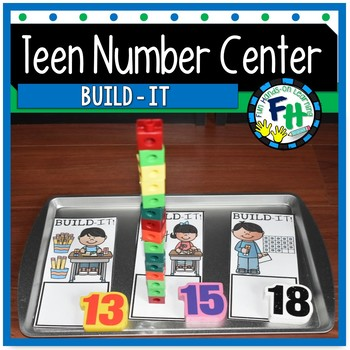 Teen Number Center {Build It!}