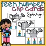 Teen Numbers Kindergarten Center Activity Ten Frames Place Value Blocks Tallies