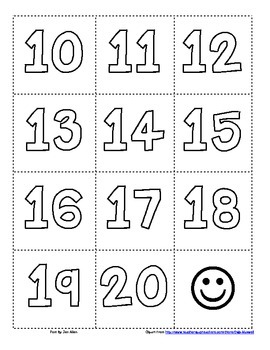 Teen Number Concentration