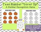 Pumpkin Teen Number Cover Up