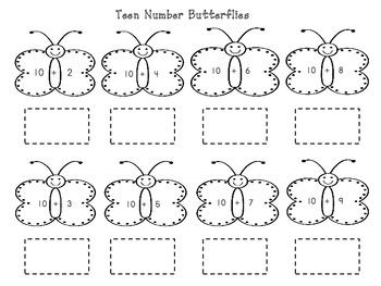Teen Number Fluency