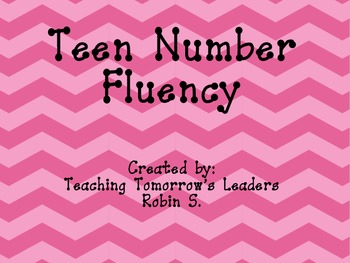 Teen Number Fluency