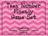 Teen Number Fluency Game Set