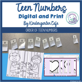 Teen Number Identification Activities and Interventions