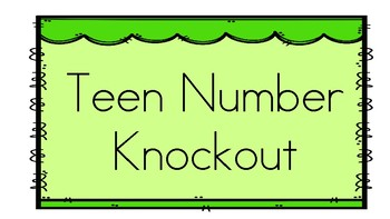 Teen Number Knockout