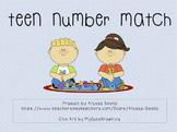 Teen Number Match & Bingo