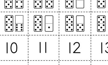 Teen Number Match Set