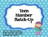 Teen Number Match-Up