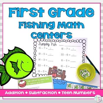 Teen Number Math Centers