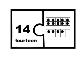 Teen Number Math Centers & Worksheets