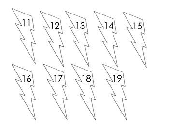 Teen Number Math Sort