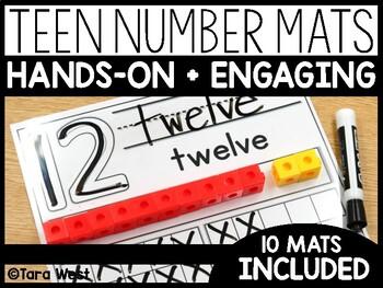 Teen Number Mats (10-20)