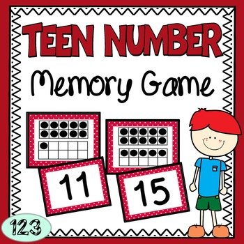 Teen Number Memory Game