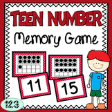 Teen Number Memory Game