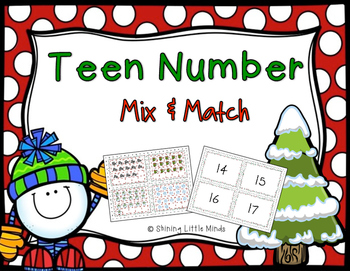 Teen Number Mix and Match