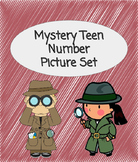 Teen Number Mystery Pictures Set