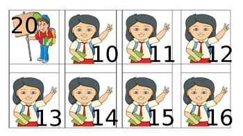 Teen Number Order Game