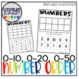 Teen Number Order