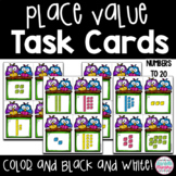 Teen Number Place Value Task Cards or Scoot Game